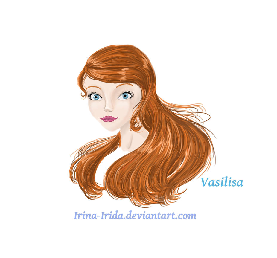 Vasilisa.Portrait by Irina-Irida