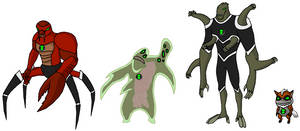 Ultimatrix Aliens 3