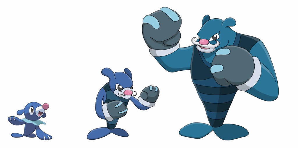 Popplio And Oshawott Coloring Pages