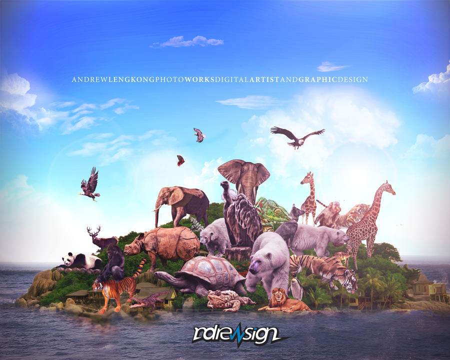 animal invasion version 2 by ndrewblack