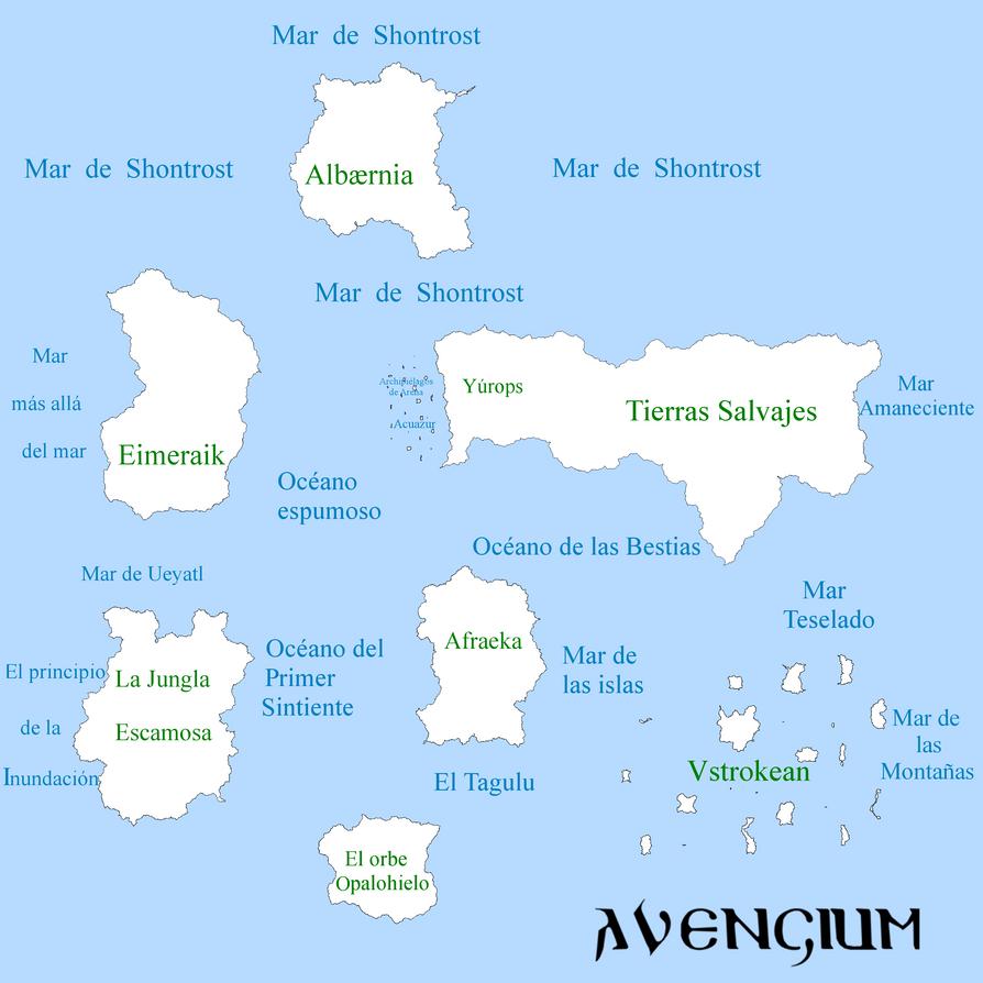 Mapa de Gemra Global 2.0 by Avengium