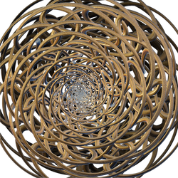 Las infiniesencias Loxodrome Torus Knot I by Avengium