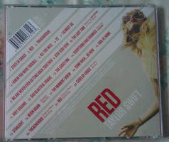 TS RED (Deluxe Edition) CD Back 01 by Avengium