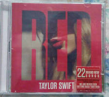 TS RED (Deluxe Edition) CD Front 01 by Avengium