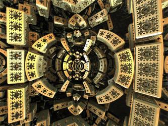 Niakok01-#00156-3 Kaleidoscopic insides of reality by Avengium