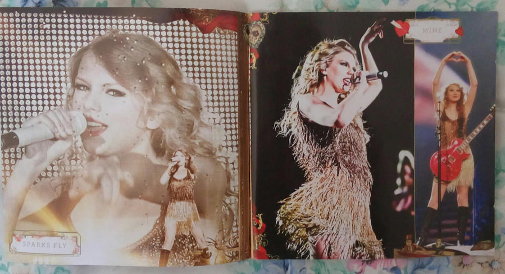 TS Speak Now World Tour Live CD + DVD Booklet 01 by Avengium