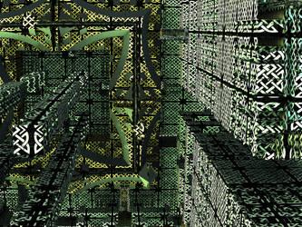 Fractal City in Modern Times Avengium Computation by Avengium