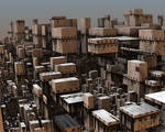 Avengium Fractal city in modern times II