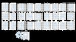 Numeros Cogi 0-27 (base 28) 3x3x3 Plantilla