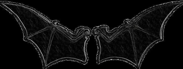 Bat wings demon Alas de murcielago