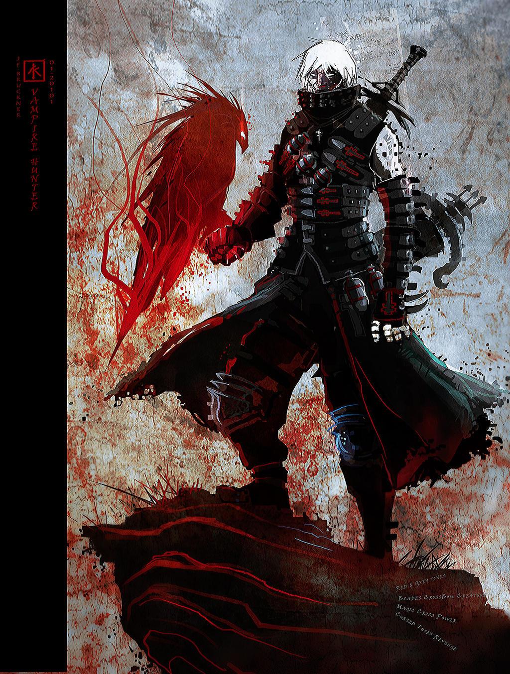 vampire Hunter by gall...
