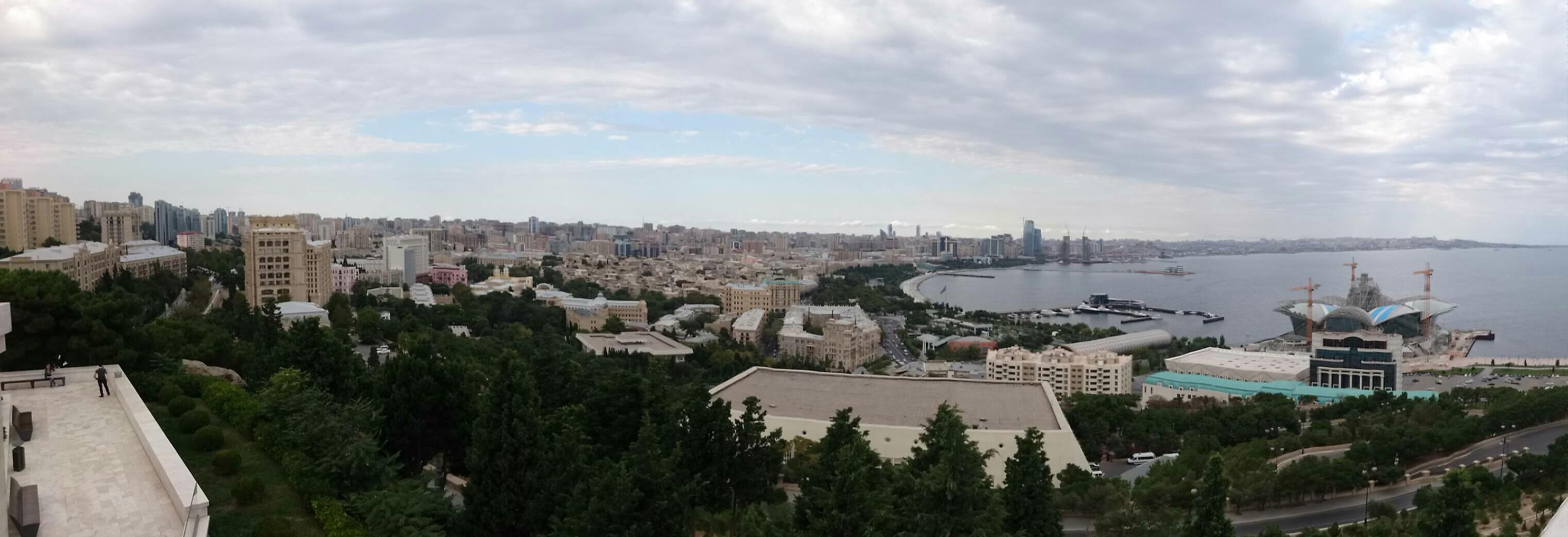 90 degree view of  Baku by BayOlympus