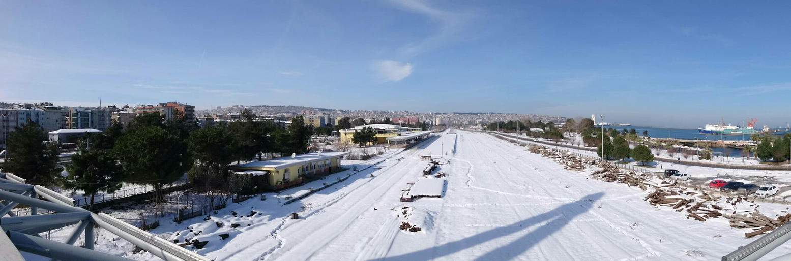 90 degree view of Samsun by BayOlympus