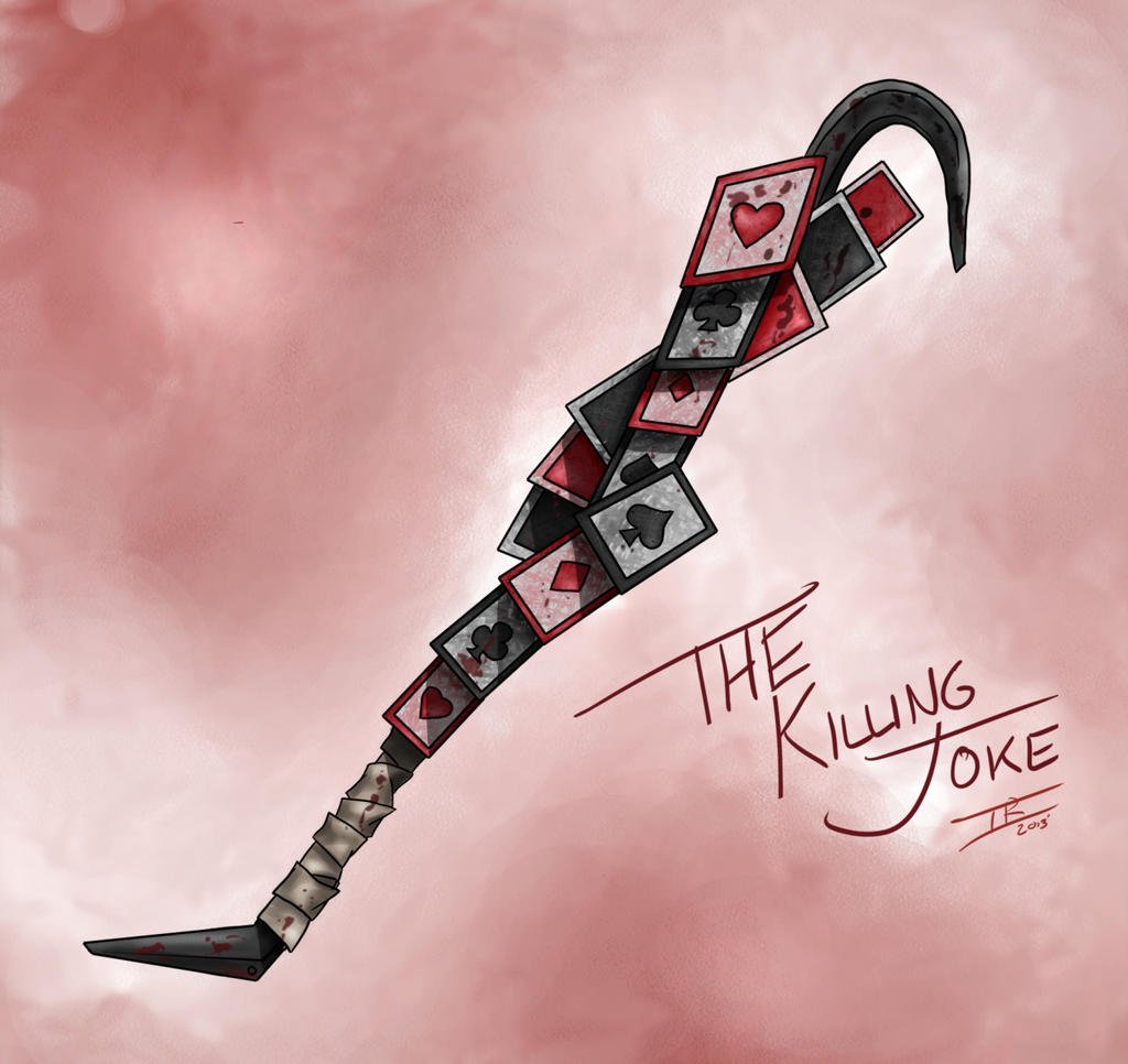 The Killing Joke, The Joker's Keyblade by Memphiston
