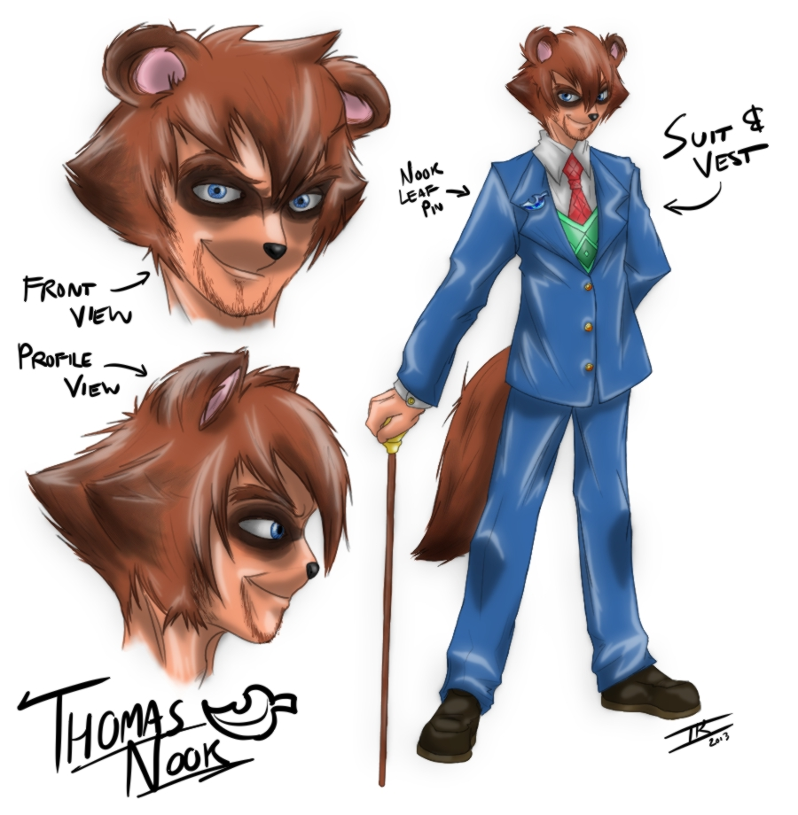 Concept Art: Thomas Nook by Memphiston