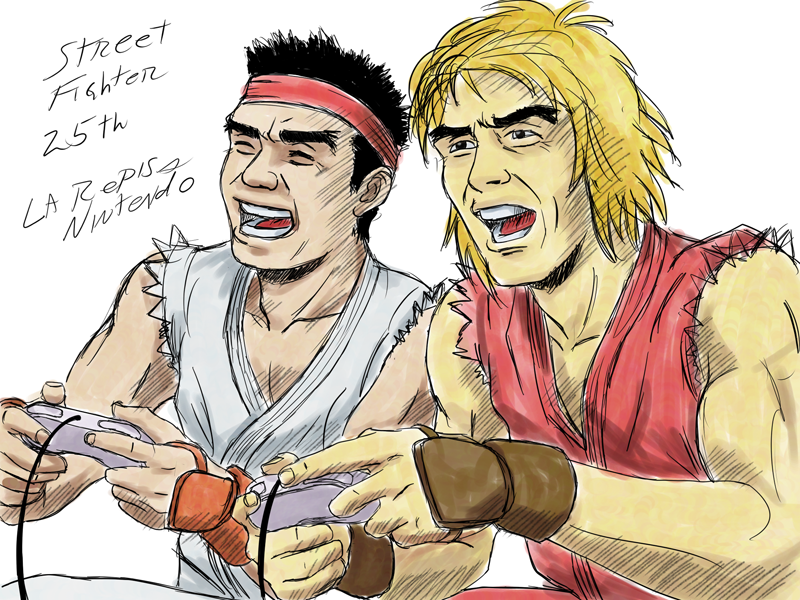 Street Fighter 25th by heavycarcass