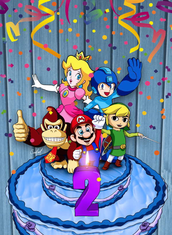 La Repisa Nintendo 2nd Anniversary by heavycarcass