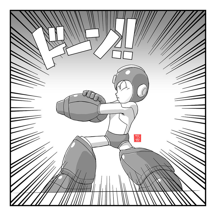 Mega Man 27th Anniversary by heavycarcass