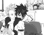 Fairy Tail-Lyon and Gray