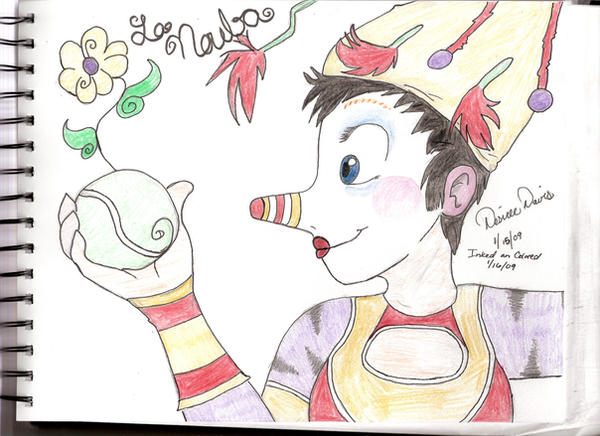 La Nouba Bird 'Colored' by Desi-kat