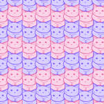 Cotton Candy Cats Pattern!