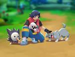 -The Adventure Begins- by PokemonReign
