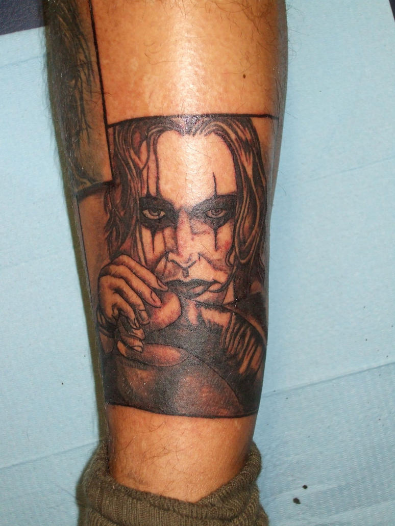 The crow tattoo by dottcrudele on deviantart for Tattoo shop etiquette
