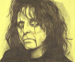 Alice Cooper Portrait