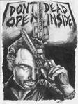The Walking Dead - Rick Grimes portrait