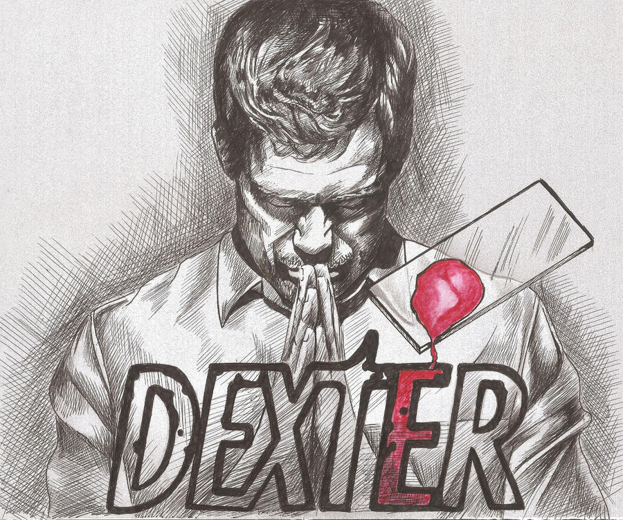 Dexter portrait by dottcrudele