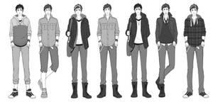 KU: Outfits by TAKESHl