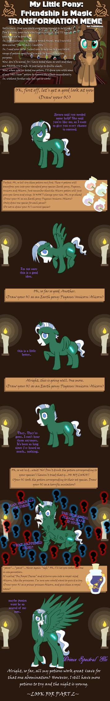 Laven Transformation Meme by MettagiriSuru
