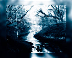 The river in blue by YvesDesign