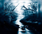 The river in blue