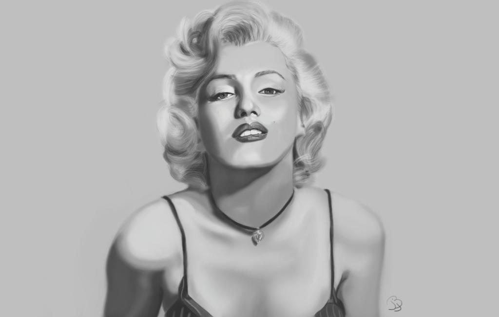 Marilyn Monroe ~ study by overhyme