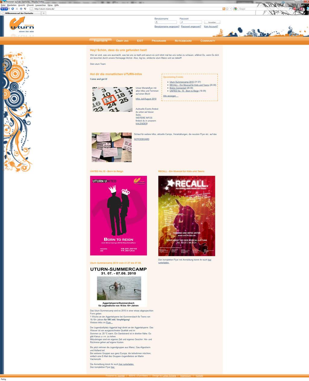 Turn.Homepage.design:. by ~CrashOverflow on deviantART