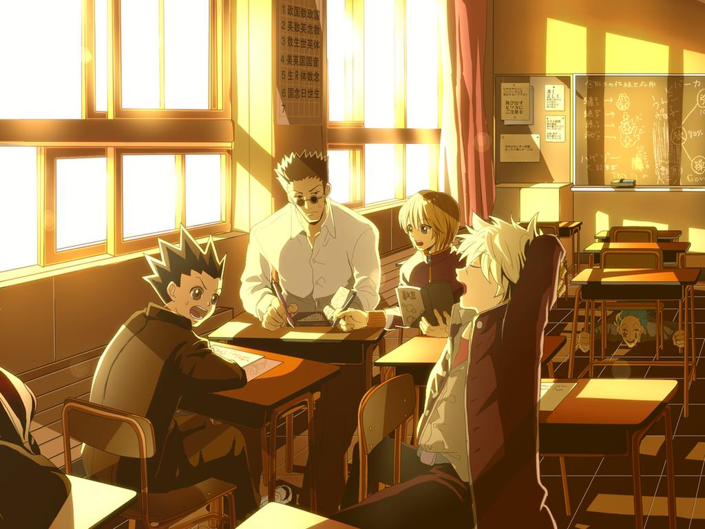 School paro by turuko