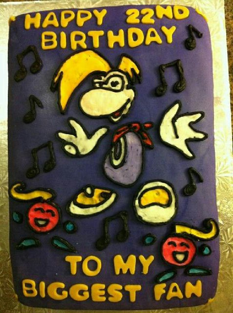 MY SEXY RAYMAN CAKE by SexySonadow