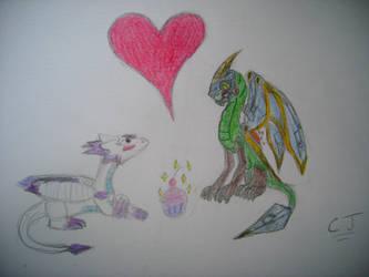 Lightwing X Drobot: Love at first cupcake