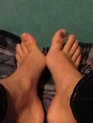 My feet?