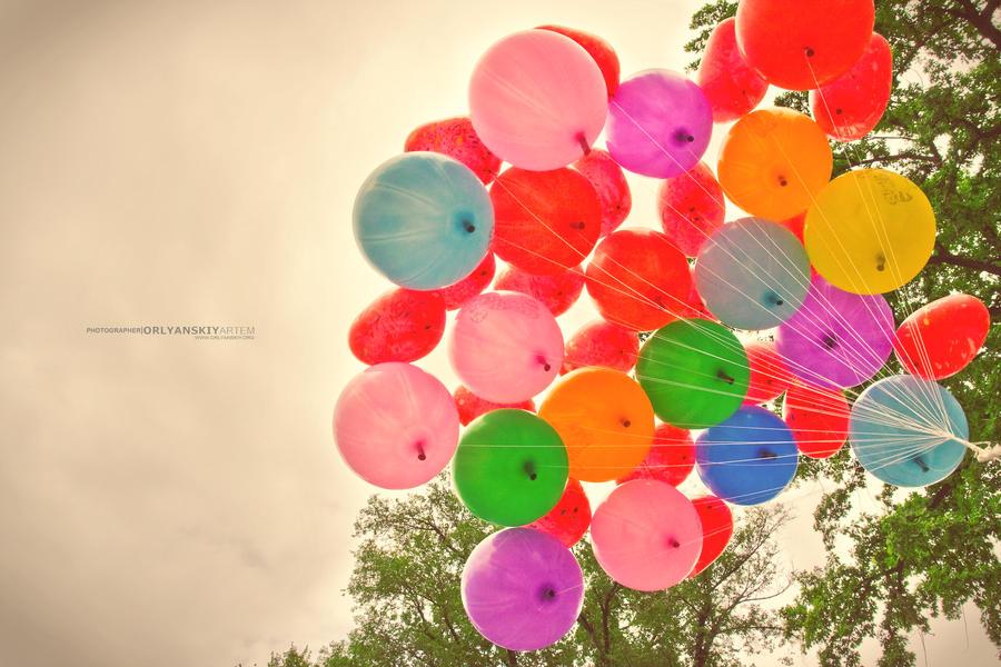 Balloons by Orlyanskiy