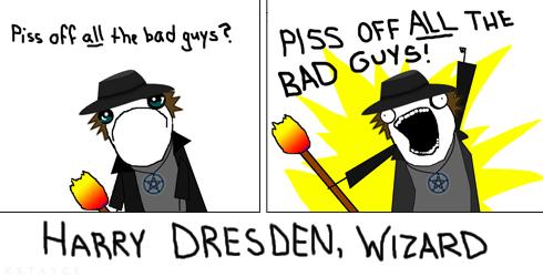 Harry Dresden (X all the Y) by xxtayce