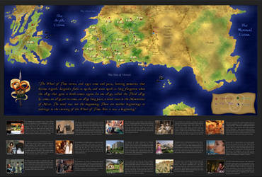 Wheel of Time Map (FINAL) by xxtayce