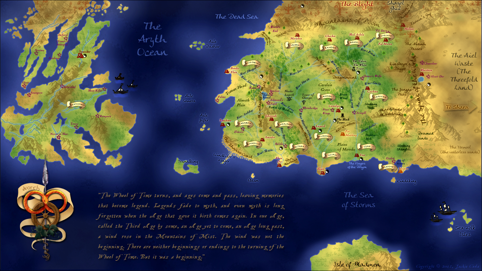 wotmapwallpaperversion by xxtayce · wheel of time chapter icons  customps . wheel of time map (final) by xxtayce on deviantart