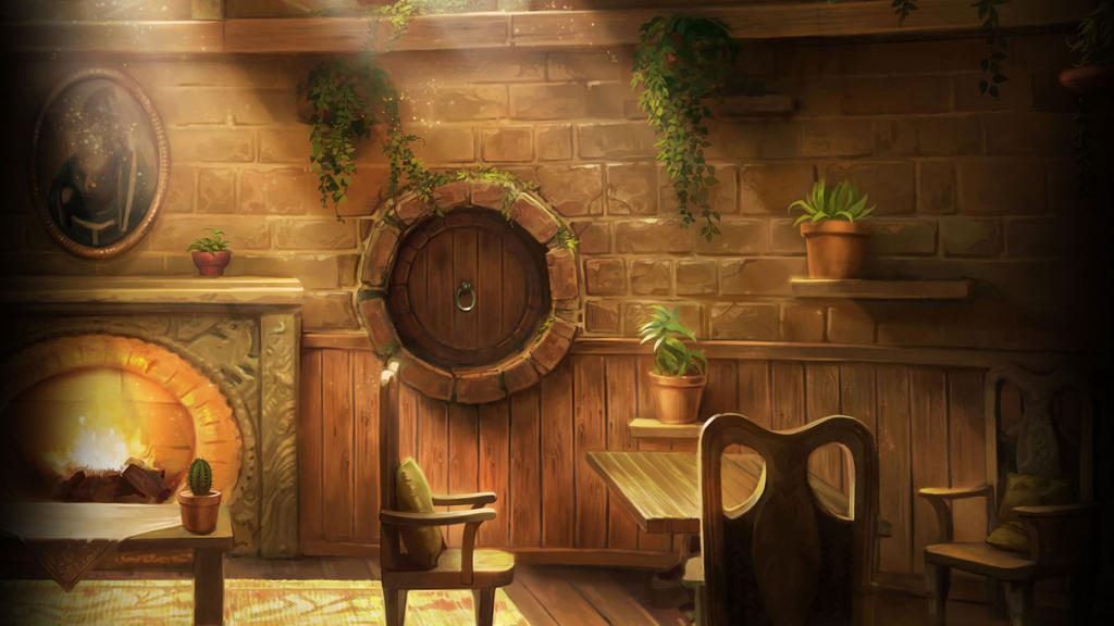 pottermore background hufflepuff common room by xxtayce