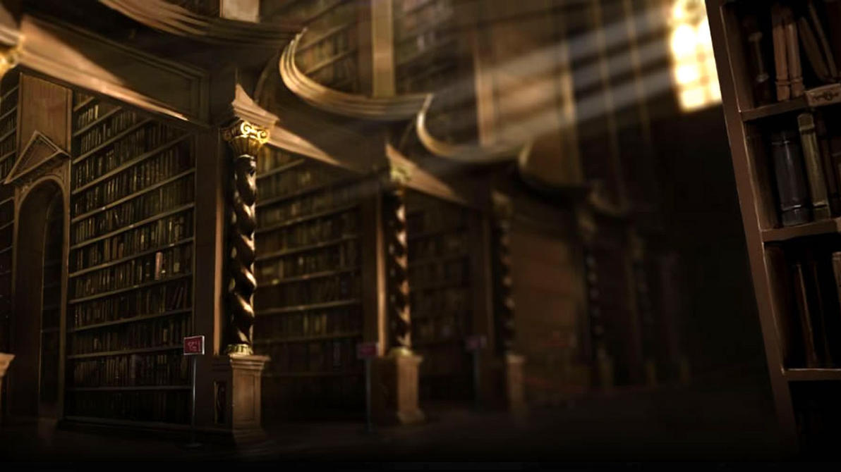 Pottermore Background: Hogwarts Library 1 by xxtayce on DeviantArt