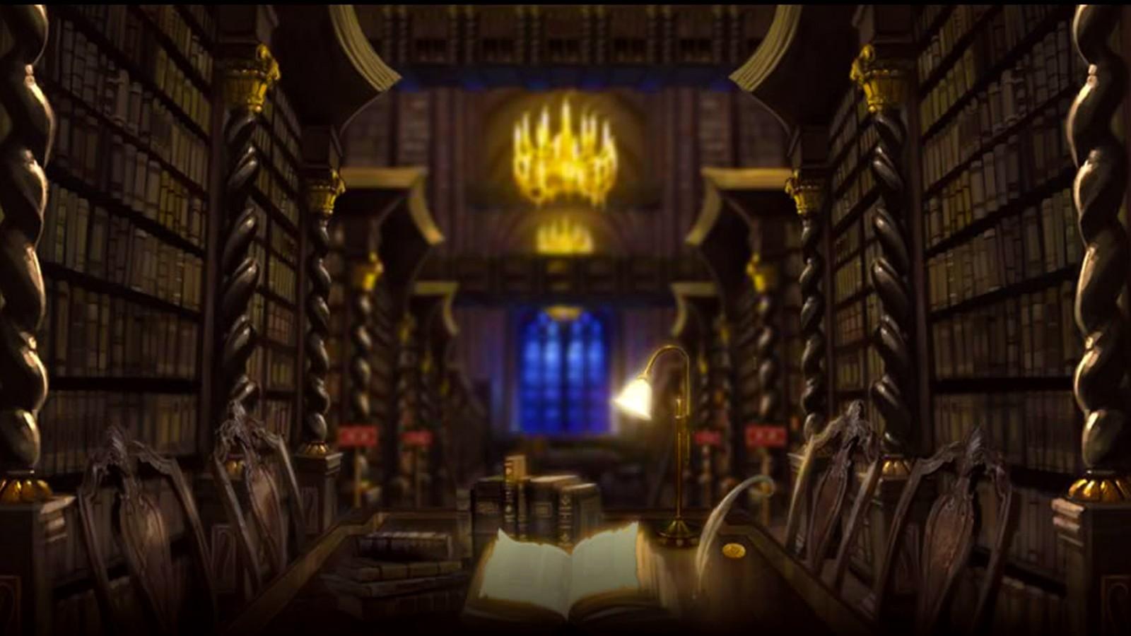 Fantasy Library By xxtayce in fantasy