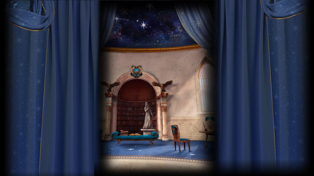 Pottermore Background: Ravenclaw Common Room by xxtayce on DeviantArt