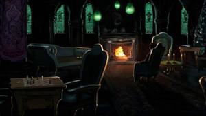 Pottermore Background: Slytherin Common Room