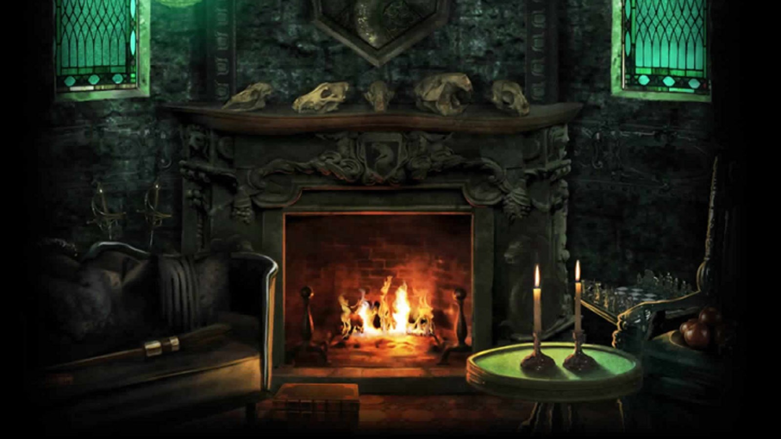 Pottermore Background Slytherin Common Room 2 By Xxtayce